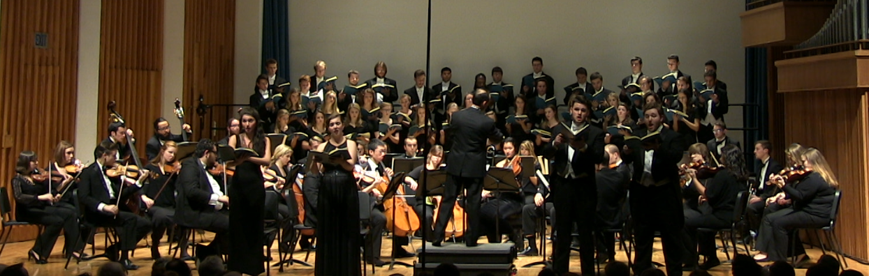 Chamber Orchestra and Concert Choir: November 15, 2015