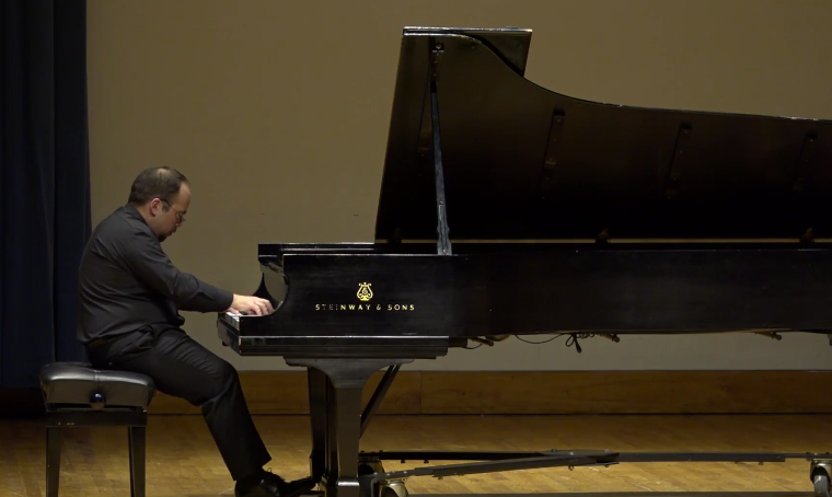 Christopher Guzman Faculty Recital: January 22, 2016