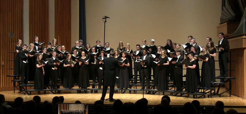 Concert Choir: April 17, 2016