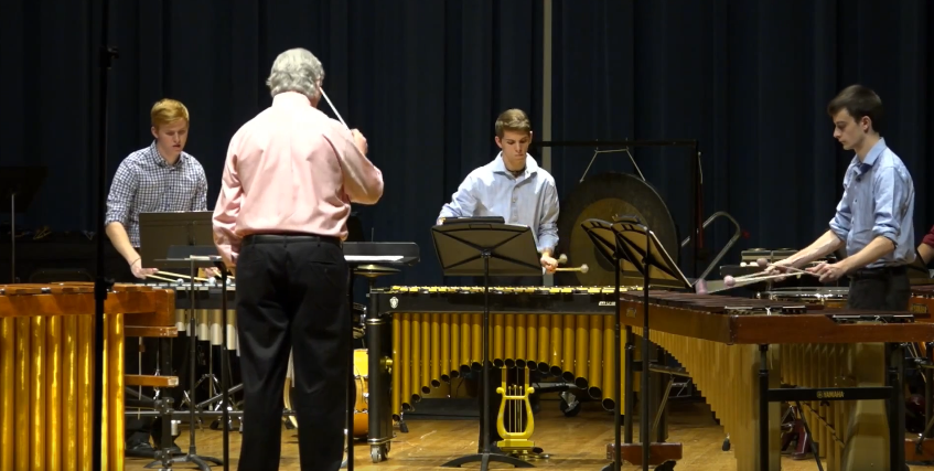 Percussion Ensemble I and Mallet Ensemble: April 20, 2016
