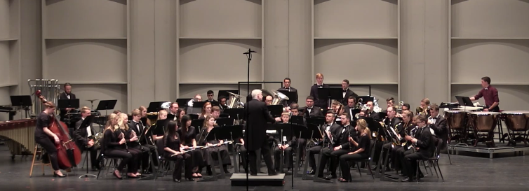 Symphonic Wind Ensemble: April 28, 2016