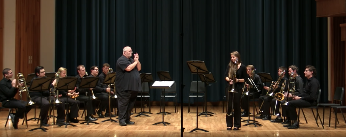 Trombone Choir: October 30, 2016