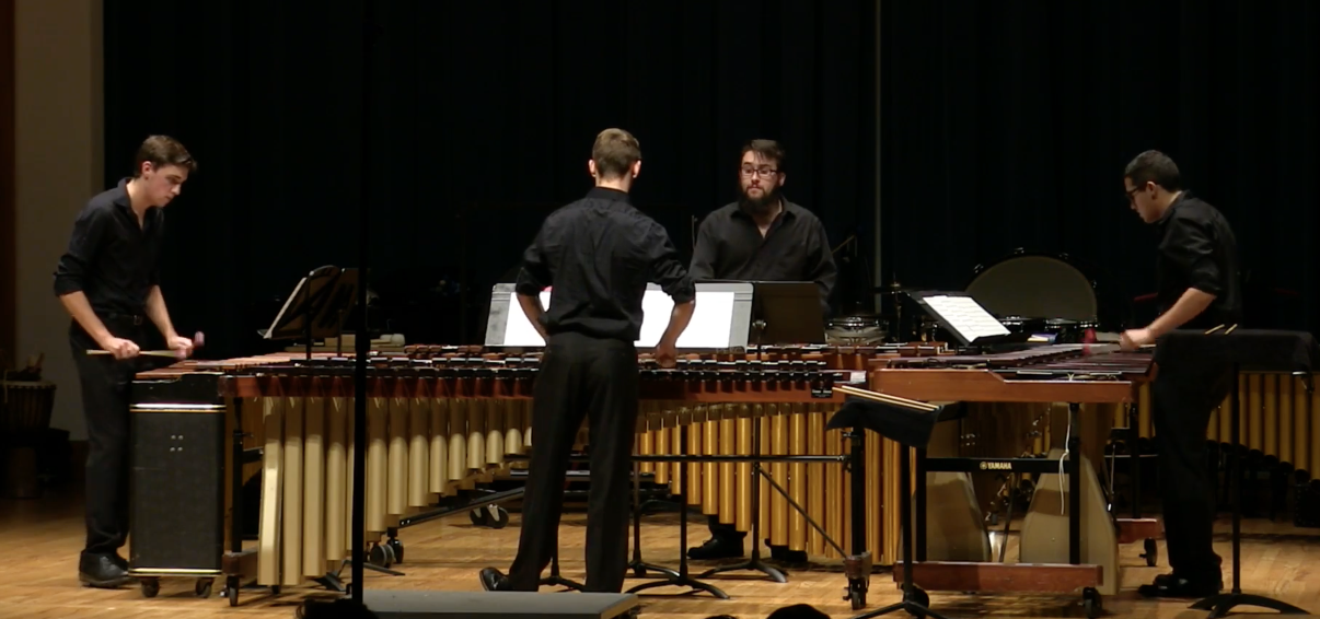 Percussion Ensemble I and Mallet Ensemble: November 30, 2016