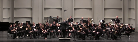 Concert and Symphonic Bands: December 8, 2016