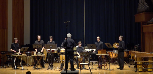 Percussion and Mallet Ensembles: February 16, 2017